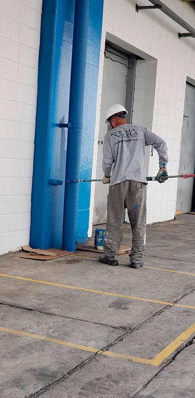 Empresa prestadora de serviços de pintura