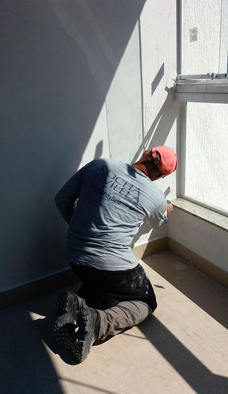 Pintura acrílica parede