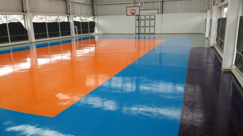 Pintura industrial de piso